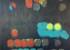 """Smudgies #1, parasol b // 30""""x48""""x1.5"""" // Acrylic // 2014"""